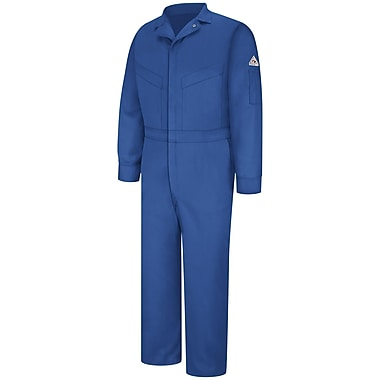 Bulwark Deluxe Coverall - EXCEL FR ComforTouch - 6 OZ. LN x 56, Royal blue