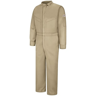 Bulwark Deluxe Coverall - CoolTouch 2 - 5.8 oz. LN x 42, Khaki