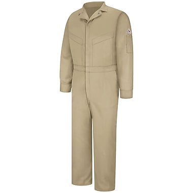Bulwark Deluxe Coverall - EXCEL FR ComforTouch - 6 OZ. LN x 44, Khaki