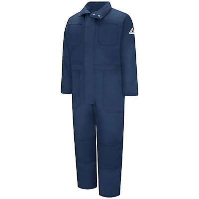 Bulwark Premium Insulated Coverall - EXCEL FR ComforTouch LN x L, Navy