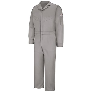 Bulwark Deluxe Coverall - EXCEL FR ComforTouch - 6 OZ. LN x 48, Grey