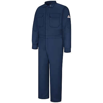 Bulwark Premium Coverall - EXCEL FR ComforTouch - 9 oz. LN x 48, Navy