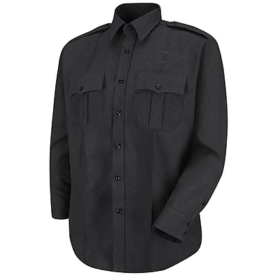 Horace Small Men's Sentry Long Sleeve Shirt 185 x 36, Black