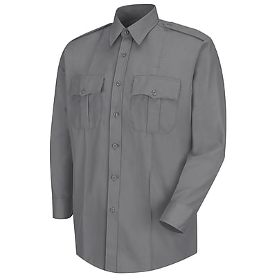 Horace Small Men's Deputy Deluxe Long Sleeve Shirt 17 x 34, Grey