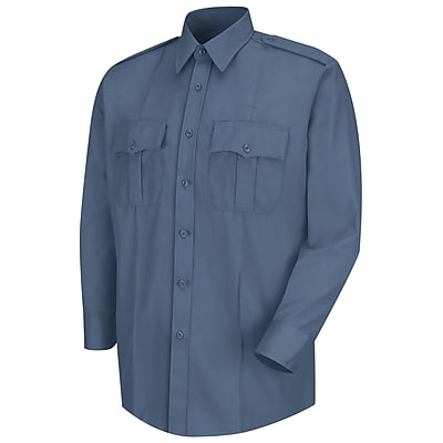 Horace Small Men's Deputy Deluxe Long Sleeve Shirt 20 x 38, French blue