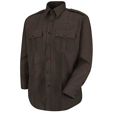 Horace Small Men's Sentry Long Sleeve Shirt 17 x 33, Brown