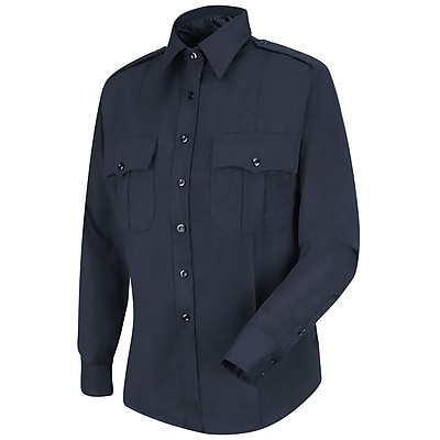 Horace Small Women's New Generation Stretch Long Sleeve Shirt RG x M, Dark navy