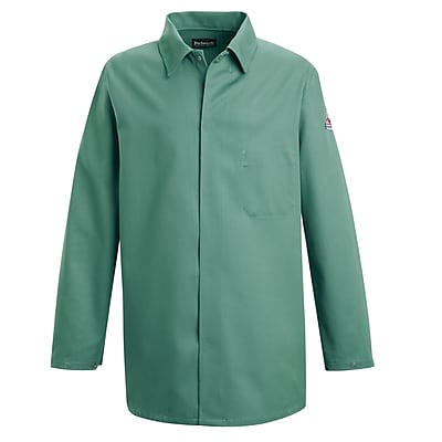 Bulwark Men's Work Coat - EXCEL FR - 9 oz. RG x XL, Visual green