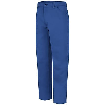Bulwark Men's Jean-Style Pant - Nomex IIIA - 7.5 oz. 50 x 37U, Royal blue