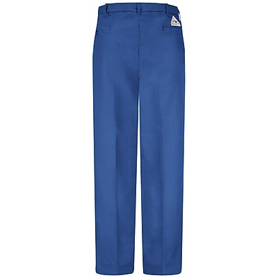 Bulwark Men's Work Pant - Nomex IIIA - 6 oz. 42 x 36U, Royal blue