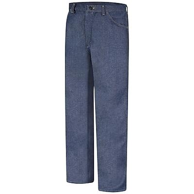 Bulwark Men's Relaxed Fit Denim Jean - EXCEL FR - 12.5 oz. 44 x 37U, Dark denim