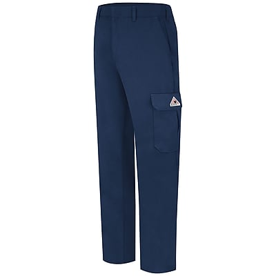 Bulwark Men's Cargo Pocket Pant - CoolTouch 2 - 7 oz. 28 x 36U, Navy