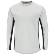 Bulwark Men's Long Sleeve FR Two-Tone Base Layer - EXCEL FR (MPU8GYRG3XL)