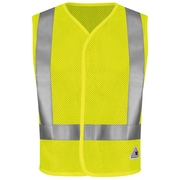 Bulwark  Hi-Visibility Regular Mesh Safety Vest Yellow & Green, XL