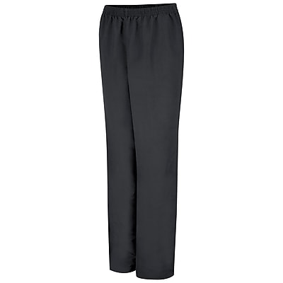 Red Kap Women's Microfiber Pull-on Pant RG x 4XL, Black