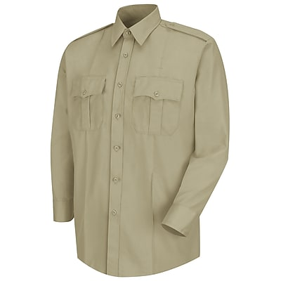 Horace Small Men's Deputy Deluxe Long Sleeve Shirt 18 x 33, Silver tan