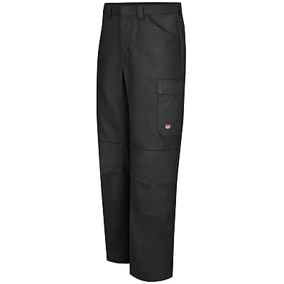 Red Kap Men's Shop Pant 48 x 37U, Black