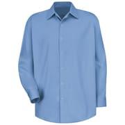 Red Kap Men's Specialized Cotton Work Shirt RG x 3XL, Light blue