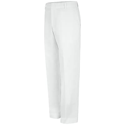 Red Kap Men's Specialized Work Pant 30 x 37U, White