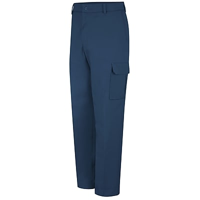 Red Kap Men's Industrial Cargo Pant 32 x 37U, Navy