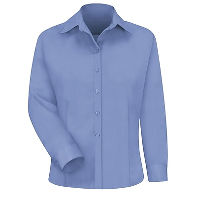 Red Kap Women's Work NMotion Blouse RG x M, Light blue