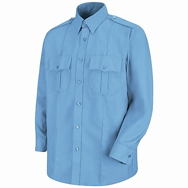 Horace Small Men's Sentinel Upgraded Security Long Sleeve Shirt M x 345, Medium blue