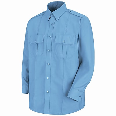Horace Small Men's Sentinel Upgraded Security Long Sleeve Shirt XL x 367, Medium blue