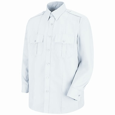 Horace Small Unisex Sentinel Upgraded Security Long Sleeve Shirt L x 323, White