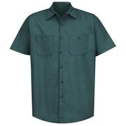 Red Kap Men's Industrial Work Shirt SS x XXL, Spruce green
