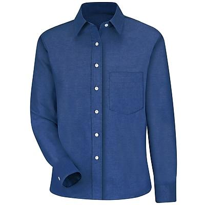 Red Kap Women's Oxford Dress Shirt RG x 12, French blue