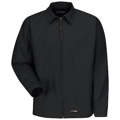 Wrangler Workwear Unisex Work Jacket LN x L, Black