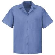 Red Kap Women's Uniform Blouse SS x S, Petrol blue