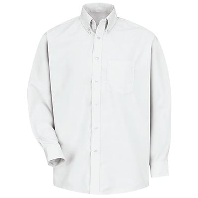 Red Kap Men's Easy Care Dress Shirt 3XL x 345, White