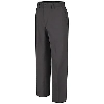 Wrangler Workwear Men's Plain Front Work Pant 42 x 36, Charcoal