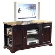 Hazelwood Home 48'' TV Stand; Mahogany