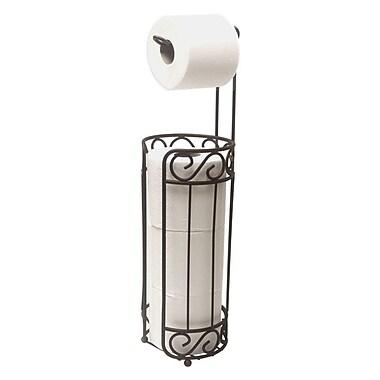 Home Basics Free Standing Toilet Paper Holder and Dispenser