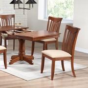 Iconic Furniture Modern Side Chair (Set of 2); Cinnamon