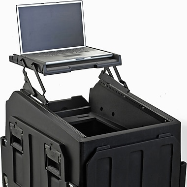 SKB A/V Shelf Case in Black for Mighty Gig Rig