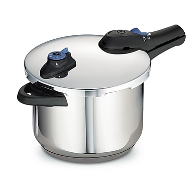 Tramontina Style Pressure Cooker; 6.3 Qt.