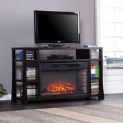 Wildon Home   Walker Media 55'' TV Stand w/ Fireplace