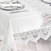 Debage Inc. City Sleep 13 Piece French Lace Table Cover Set