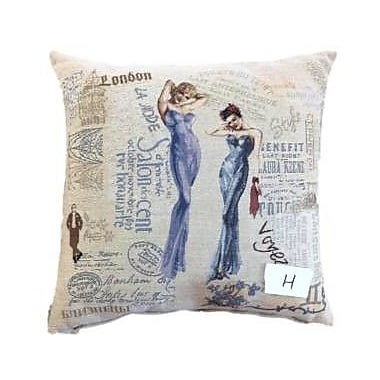 Tache Home Fashion Girls Just Want to Have Fun Cushion Cover