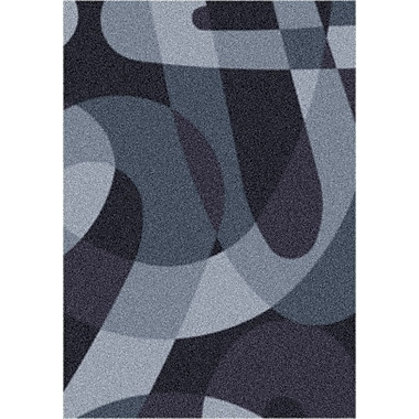 Milliken Modern Times Element Ebony Area Rug; Rectangle 2'8'' x 3'10''