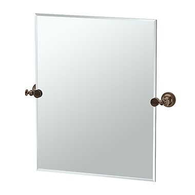 Gatco Tavern Rectangle Mirror; Bronze