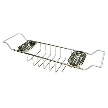 Kingston Brass Vintage Bath Caddy; Polished Chrome