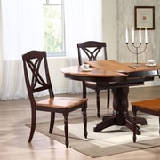 Iconic Furniture Butterfly Solid Wood Dining Chair (Set of 2); Whiskey / Mocha