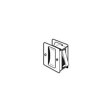 DON-JO MFG INC. Passage Pocket Door Lock; Black
