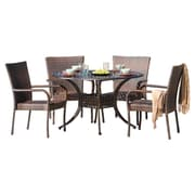 Home Loft Concepts Heidi 5 Piece Dining Set