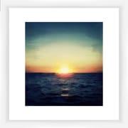 PTM Images Landscape Sunset Framed Painting Print