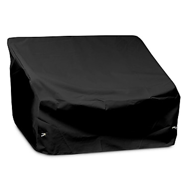 KoverRoos Weathermax 2-Seat / Loveseat Cover; Black